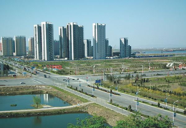 丹东市新城区道路及桥梁工程